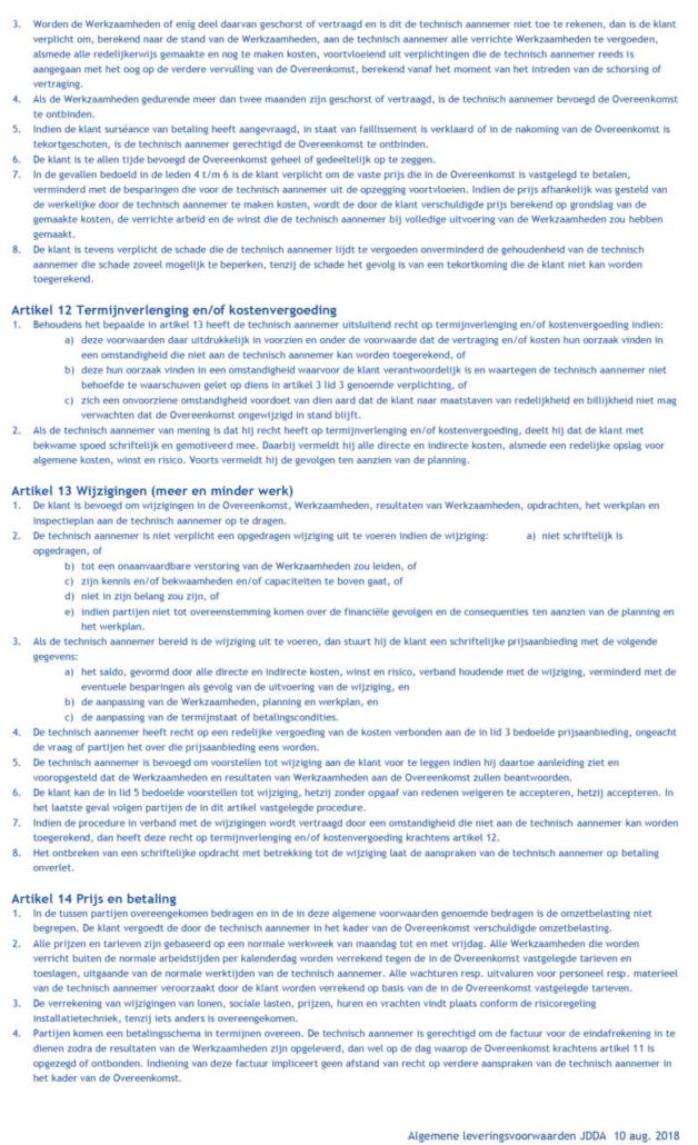 algemene voorwaarden JDDA-4