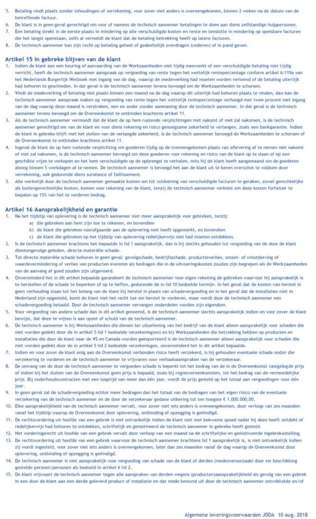 algemene voorwaarden JDDA-5