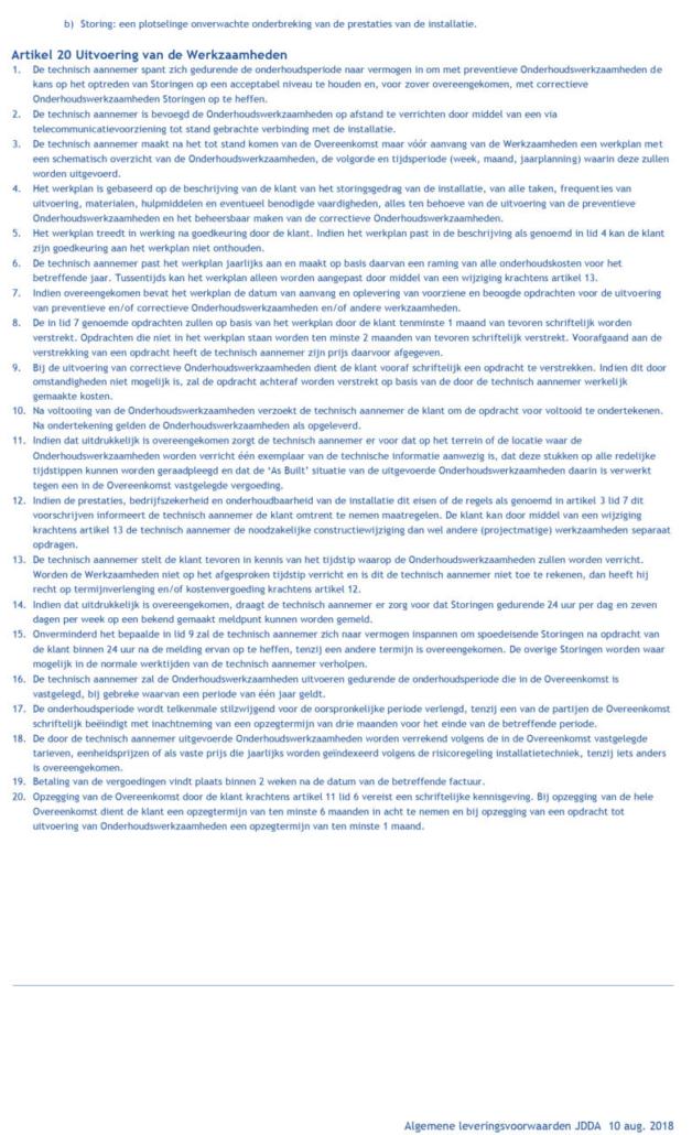 algemene voorwaarden JDDA-7